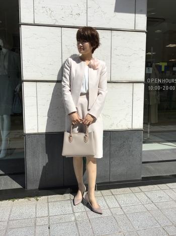 式 スーツ ママ 入園